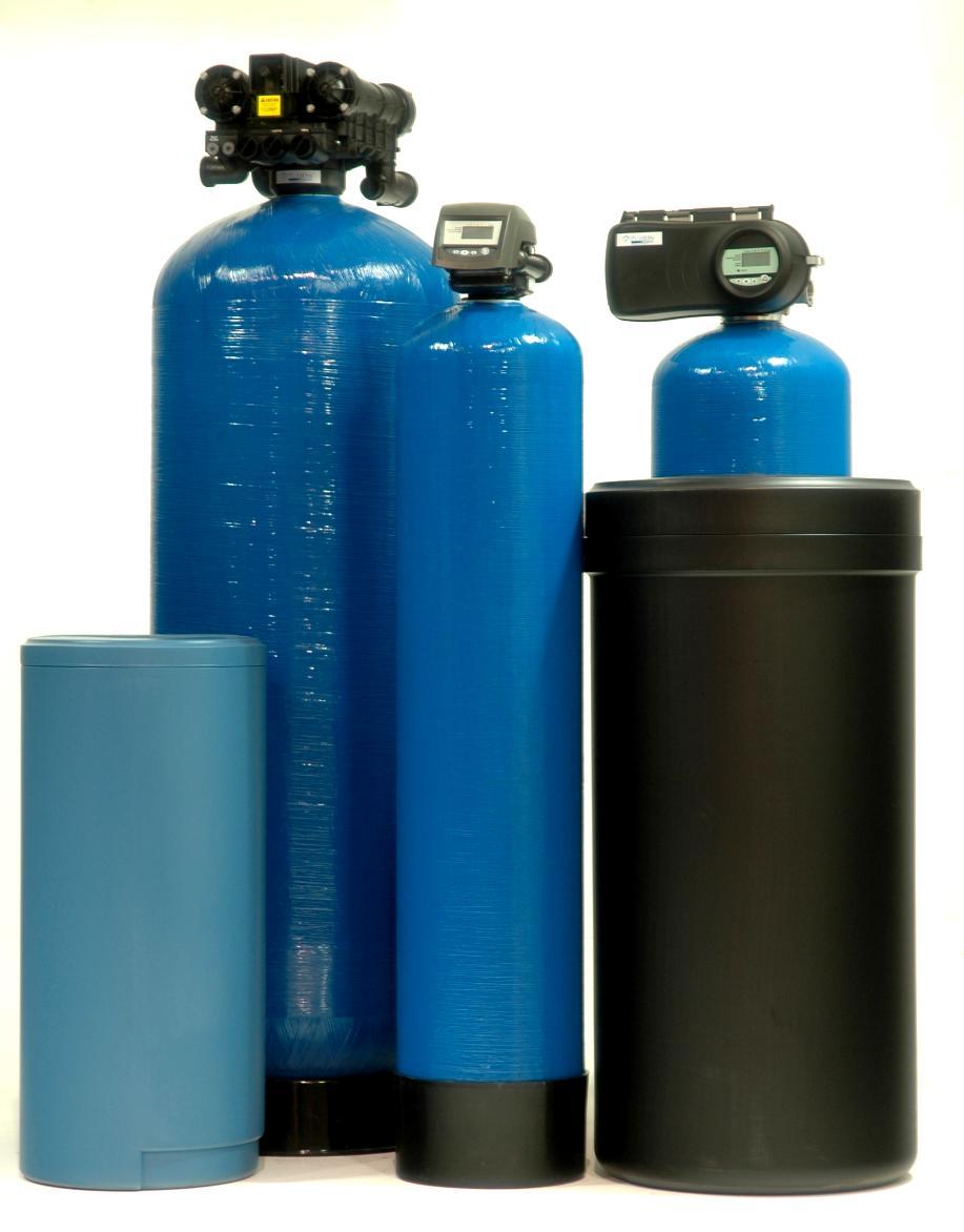 Bathroom water softener
